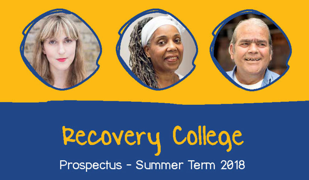 Bromley Recovery College Summer 2018 prospectus image
