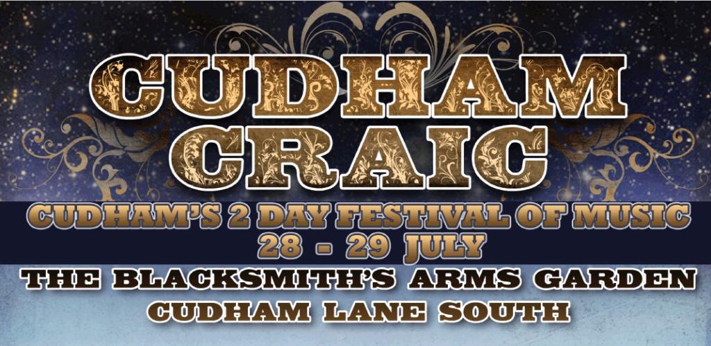 Cudham Craic Music Festival 2018 header image