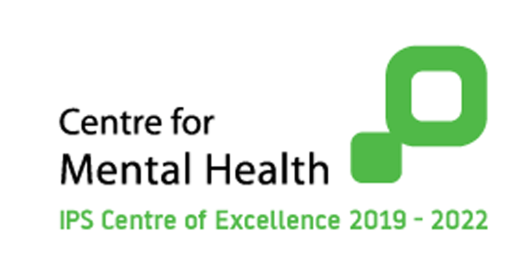 Centre for Mental Health IPS Centre of Excellence 2019-2020 logo