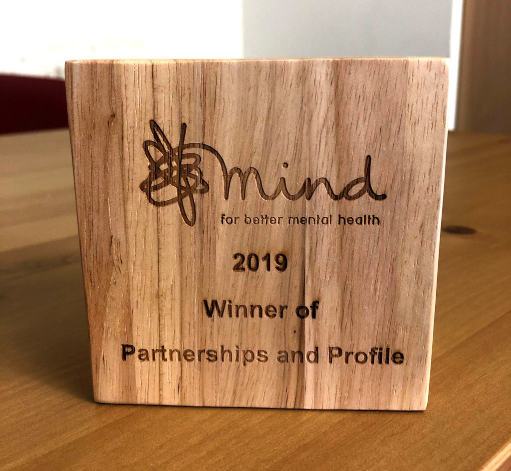 Mind Partnerships and Profile Award 2019 for BLG Mind